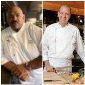 Chefs Travis Watson and David Patterson