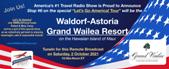 Let's Go America! Tour | Stop #6 – Maui @ Waldorf-Astoria Grand Wailea Resort